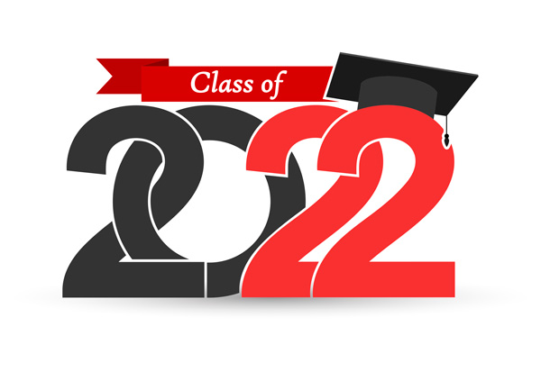 Class of 2022 logo with cap