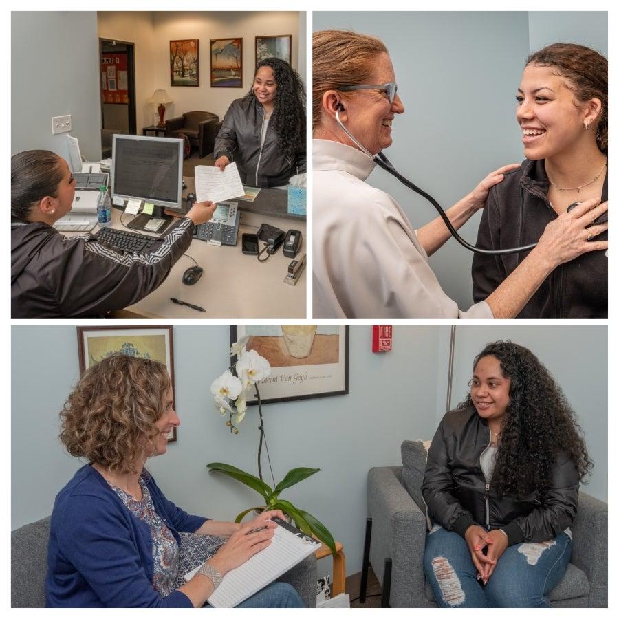 Images of the Nurses in the Ballard Teen Health Center