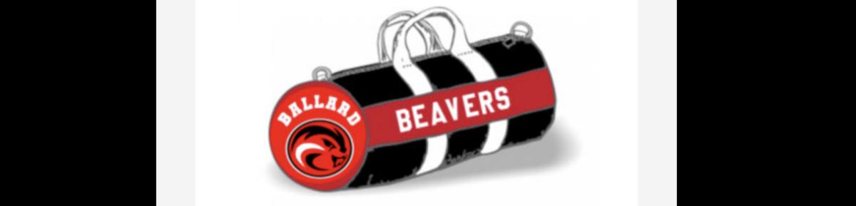 Beaver Duffle Bag with Beaver Head