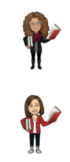 TuesD and Claire emojis