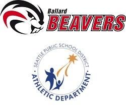 Ballard Beaver and SPS Athletic Dept Logo