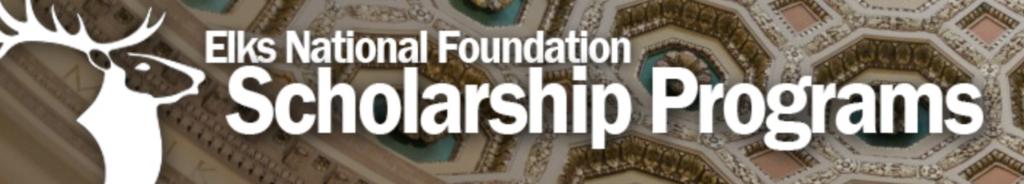 Elks National Foundation Scholarship Programs Logo